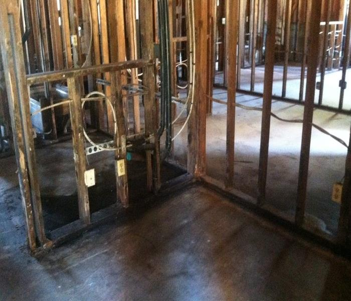 Mold Damaged Vacant Home in Phoenix After